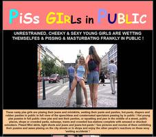 Public Piss Girl
